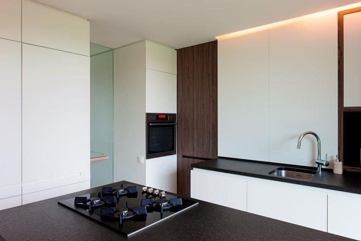 Woning te mortsel c ak 39 sent interieurarchitectuur - Keuken deur lapeyre ...