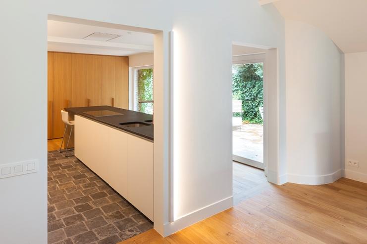 Tegels Parketlook Prijs : Parket in de keuken stunning wandtegels groene keuken with parket